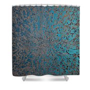 Opt.69.15 At Peace Shower Curtain