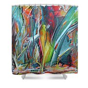 Opt.8.17 Inside Out Shower Curtain