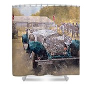 Opulence At Althorp Shower Curtain