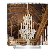 Opulence - Versailles, France Shower Curtain