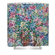 Opulent Bouquet. Shower Curtain