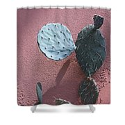 Opuntia  Shower Curtain