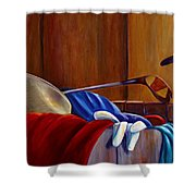 Opur's Blade Shower Curtain
