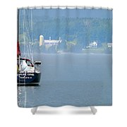 Opus One Shower Curtain