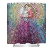 Ora Pro Nobis Shower Curtain