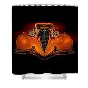 Orange Dream Shower Curtain by Susan Rissi Tregoning