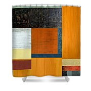 Orange Study With Compliments 2.0 Shower Curtain