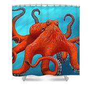 Orange-u-gr-8 Shower Curtain