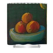 Oranges In A Bowl  Shower Curtain