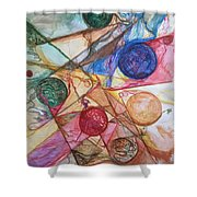 Orb Crossing.. Shower Curtain