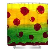 Orb Soup Shower Curtain