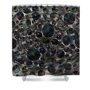 Orbs Shower Curtain