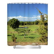 Orchard 1 H Shower Curtain