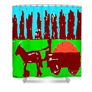 Orchard 2 Shower Curtain by Patrick J Murphy