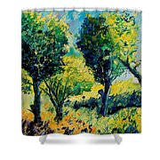 Orchard 562 Shower Curtain