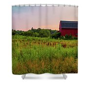 Orchard Evening Shower Curtain