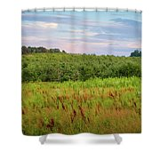 Orchard Hills Shower Curtain