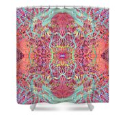 Orchard Interface  Shower Curtain
