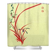 Orchid - 28 Shower Curtain