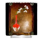 Orchid 3 Shower Curtain