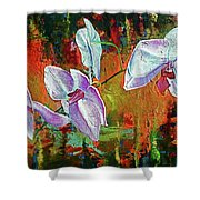 Orchid A Shower Curtain