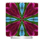 Orchid Frenzy Shower Curtain