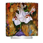 Orchid Ho Shower Curtain