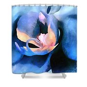 Orchid Lullaby Shower Curtain