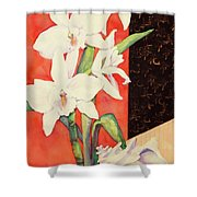 Orchid Medley Shower Curtain