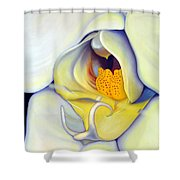 Orchid Mouth Shower Curtain