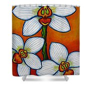 Orchid Oasis Shower Curtain