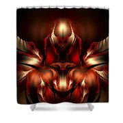Orchid Of Love Shower Curtain