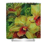 Orchid Series 11 Shower Curtain