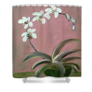 Orchids 2 Shower Curtain
