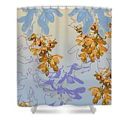 Orchids 3 Shower Curtain