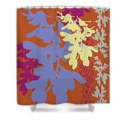 Orchids Caramel Shower Curtain