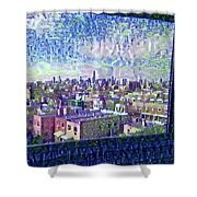 Ordinary Day For Trains Shower Curtain