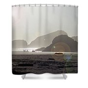 Oregon Afternoon Shower Curtain