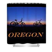Oregon Bikes 2 Shower Curtain