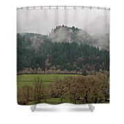 Oregon Countryside  Shower Curtain