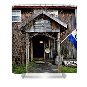 Oregon Hill Winery Shower Curtain by Stephanie Calhoun