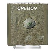 Oregon Sand Dollar Shower Curtain