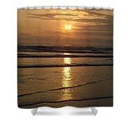 Oregon Sunset Shower Curtain