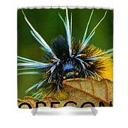 Oregon Woolly Bear Shower Curtain