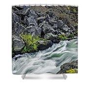 Oregon's Dillon Falls Shower Curtain