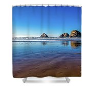 Oregons Rocky Coast Shower Curtain