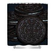 Oreo Cookies Shower Curtain