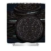 Oreo Cookies Shower Curtain