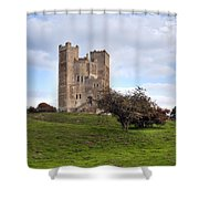 Orford Castle - England Shower Curtain