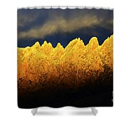Organ Mountains Land Of Enchantment 1 Shower Curtain